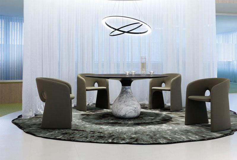 Mesa de comedor Aqua, Roche Bobois