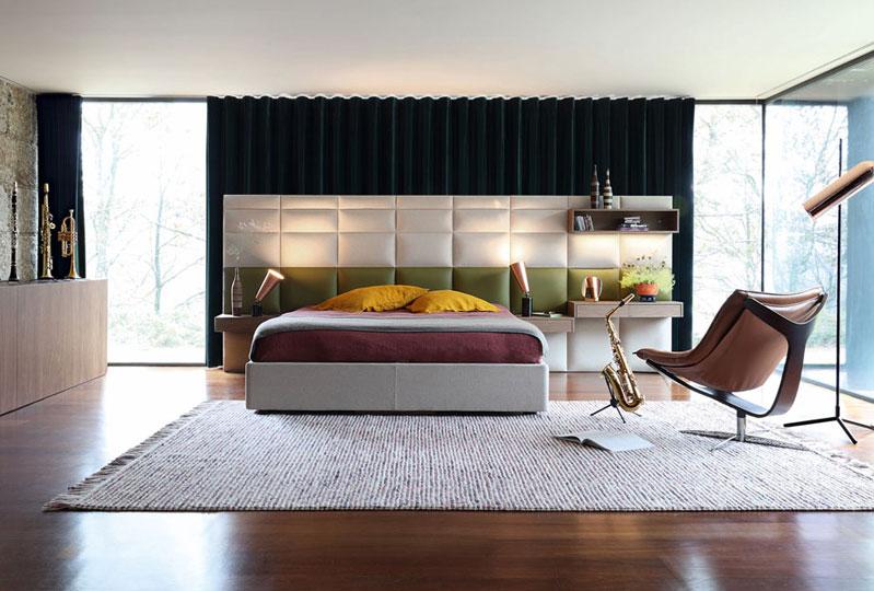 Courchevel Bed Roche Bobois