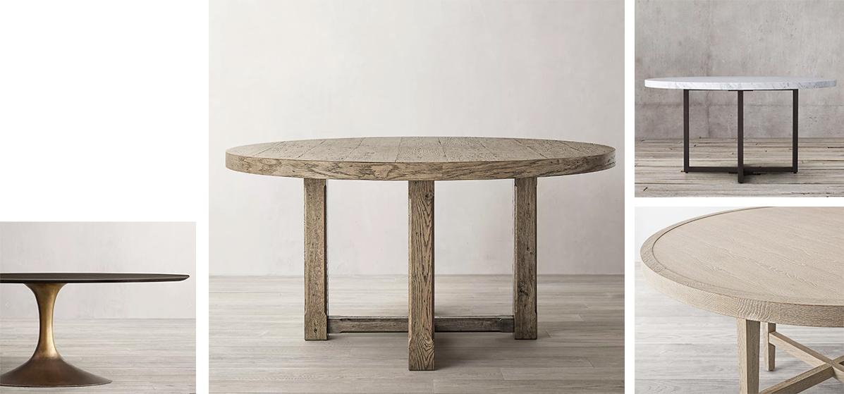 dining tables Restoration Hardware
