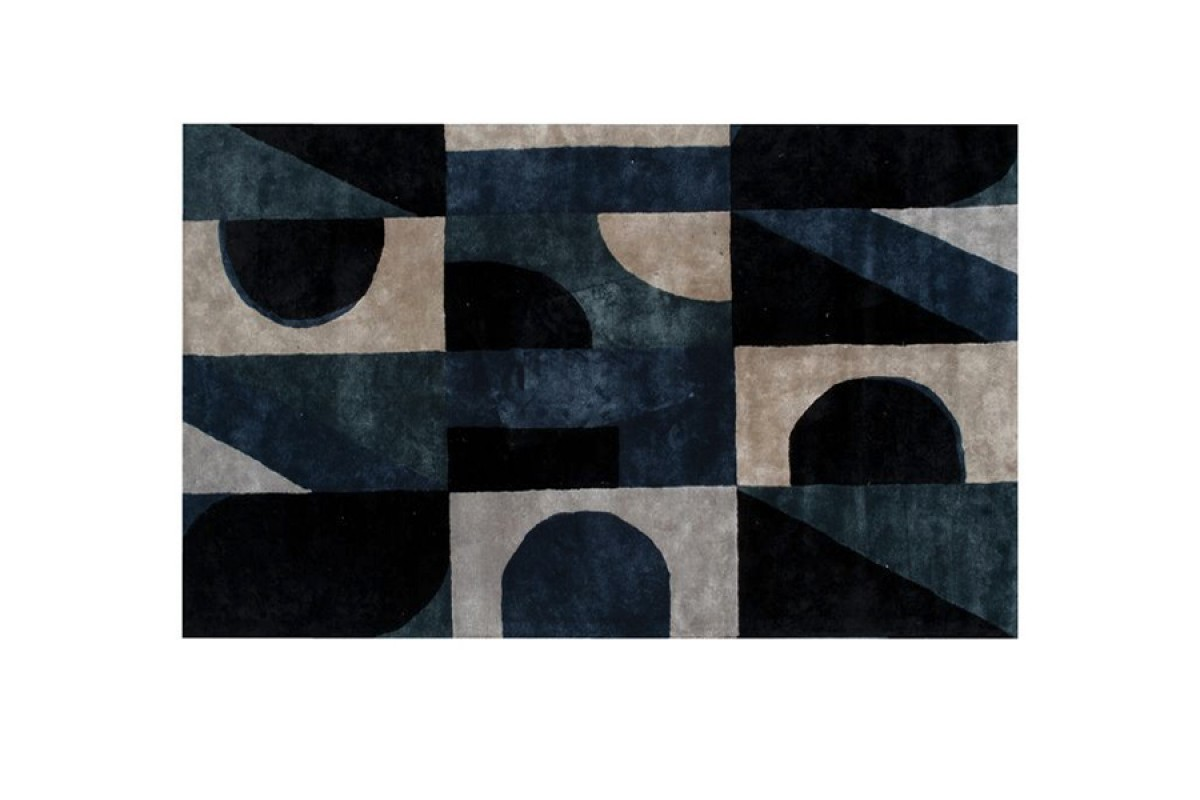 Blue Note Rectangle Rug - Roche Bobois