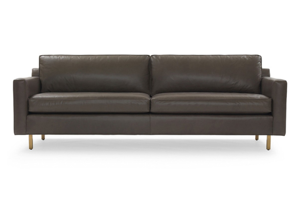 Hunter Leather Sofa - Mitchell Gold + Bob Williams