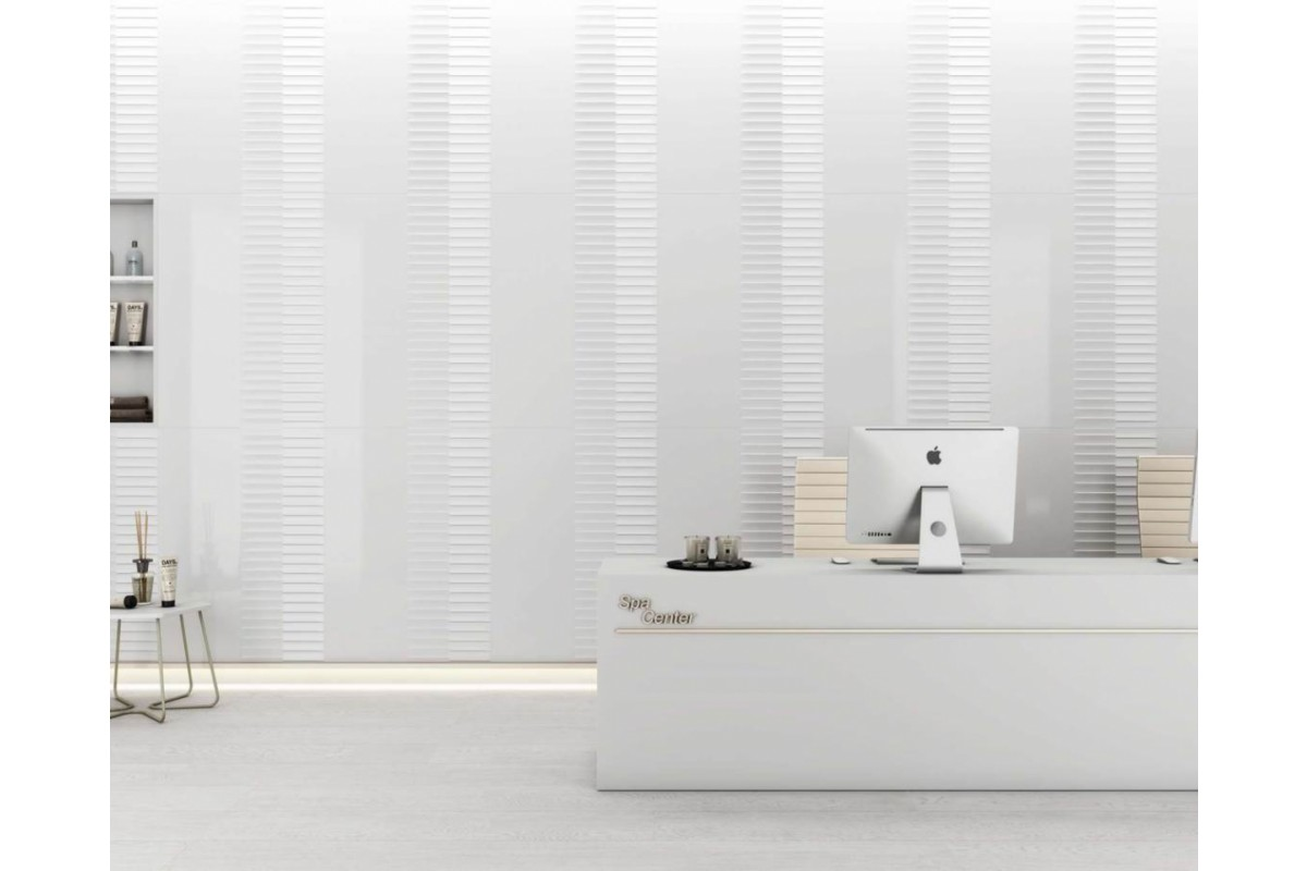 Volumenes blanco - Ibertile Ceramic