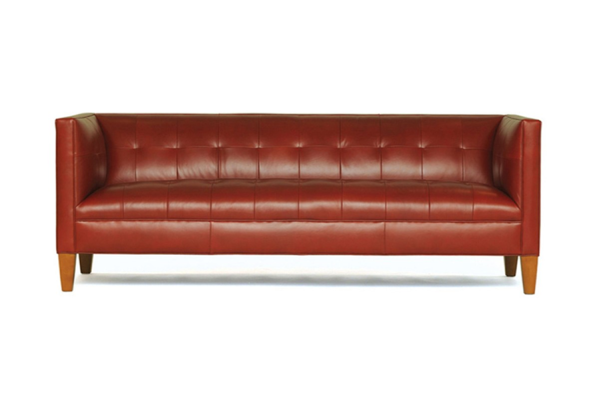 Kennedy Leather Sofa - Mitchell Gold + Bob Williams