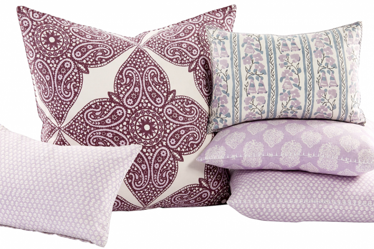 Brinjal Dec Pillow Collection