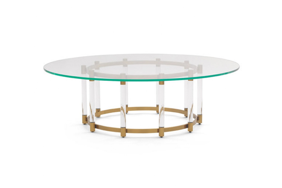 Beverly Round Cocktail Table - Mitchell Gold + Bob Williams