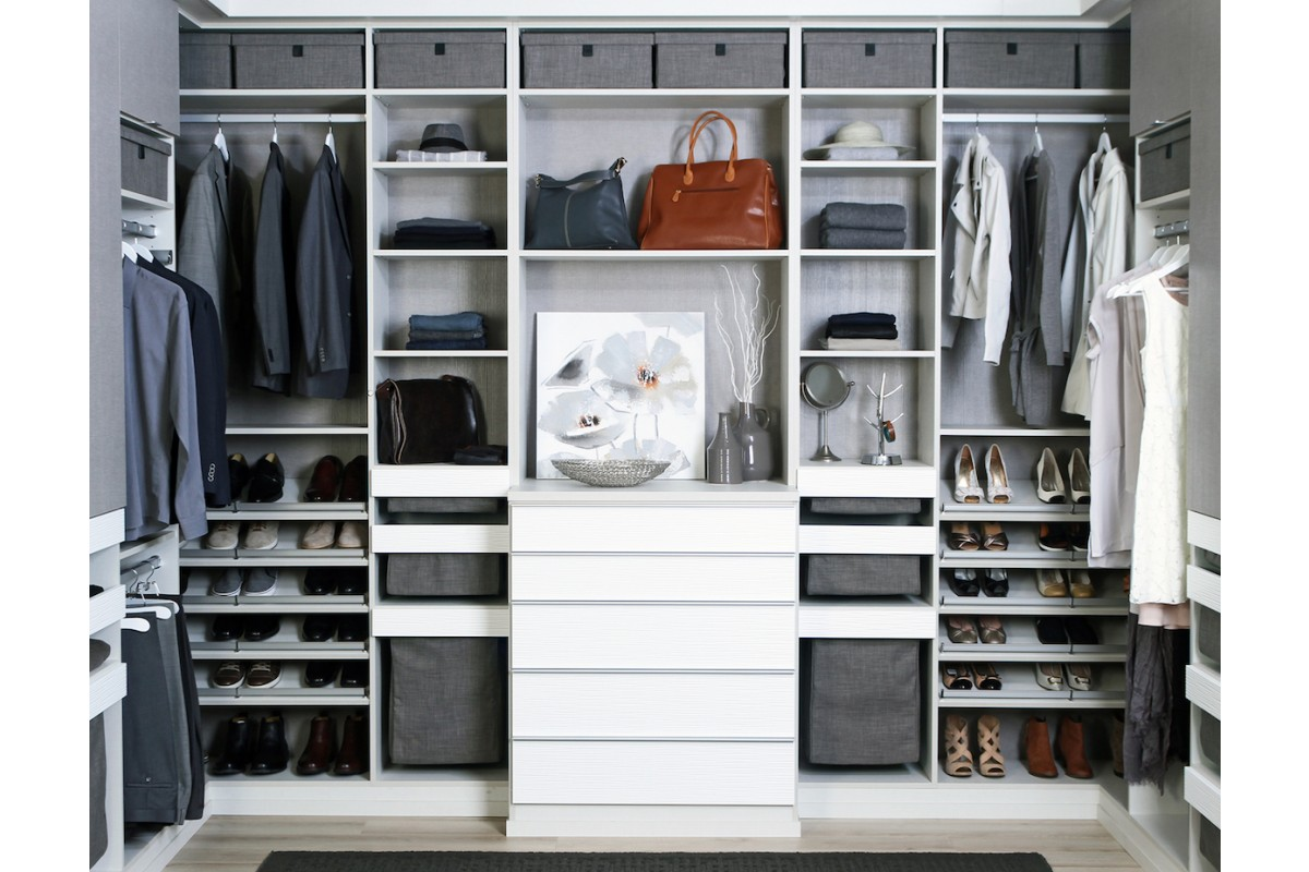 West Bay Walk-in-Closet - California Closets