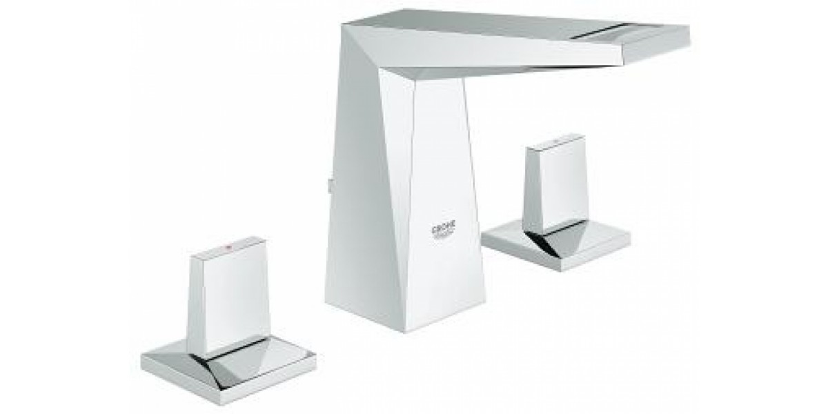 Allure Brilliant Three-hole basin mixer S-Size - Freire