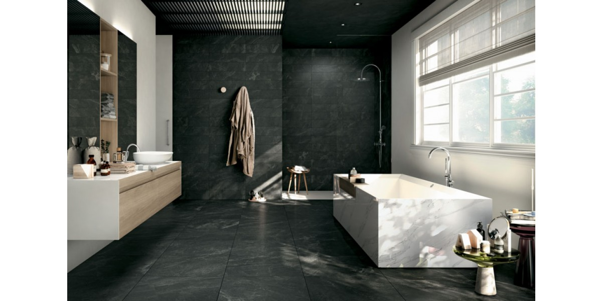 Trevi oscuro - Carlos Robles Bath Tiles and Stone