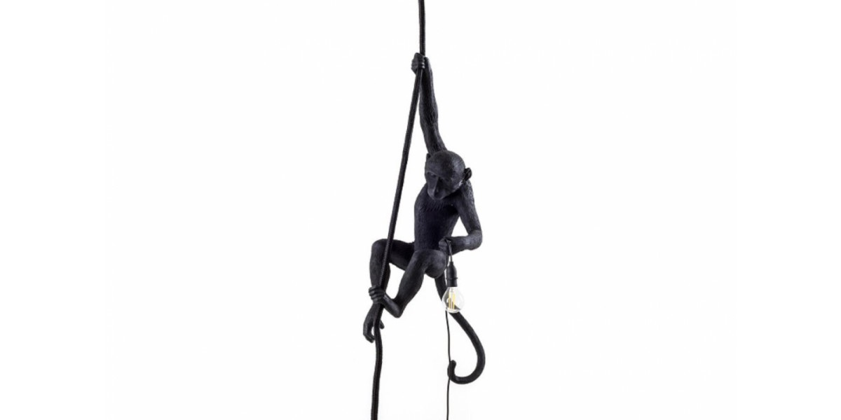 Monkey Black Hanging Lamp