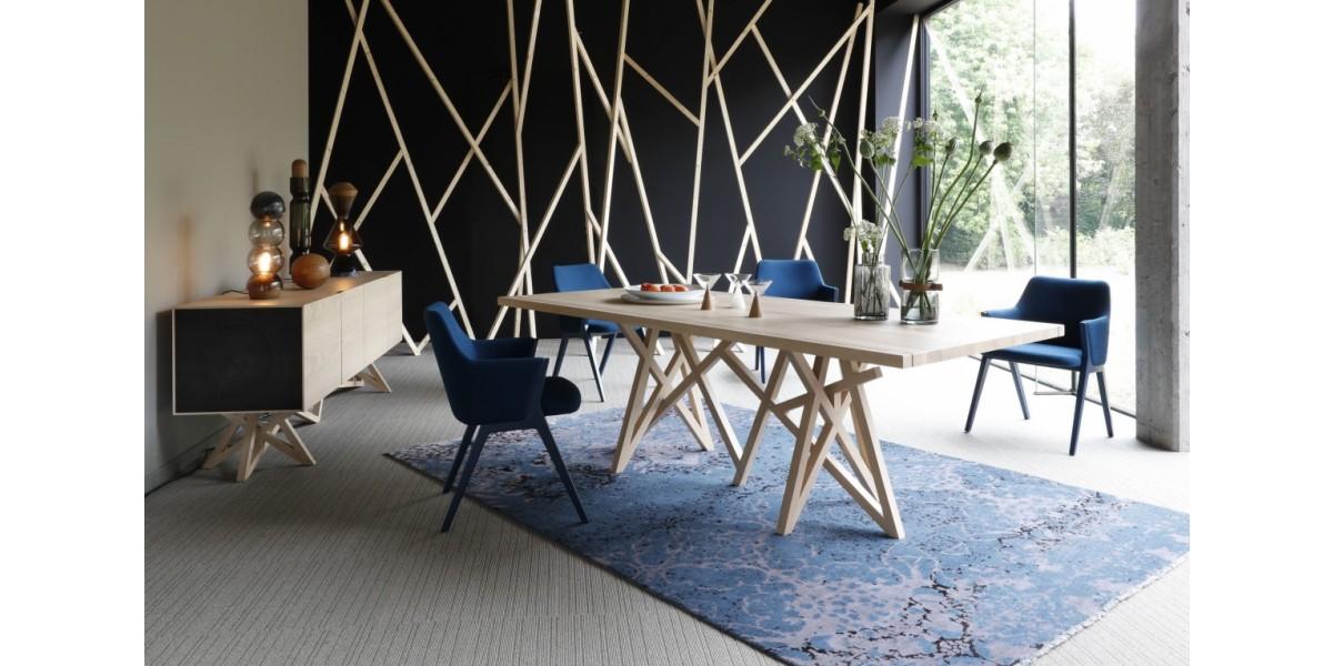 saga 2 dining table tienda modo de vida. Black Bedroom Furniture Sets. Home Design Ideas